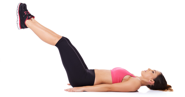 Mách bạn 4 bài tập đơn giản giúp bụng phẳng, đùi thon