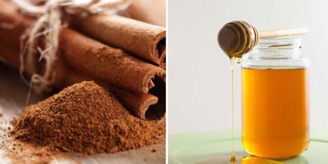 mật ong và quế, cung cấp độ ẩm, làm sạch lỗ chân lông