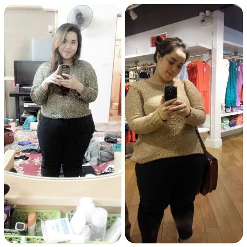 Đẹp Online, I love my body, Hương Xiêm, giảm cân, trọng lượng, béo, gầy, đẹp, tự tin