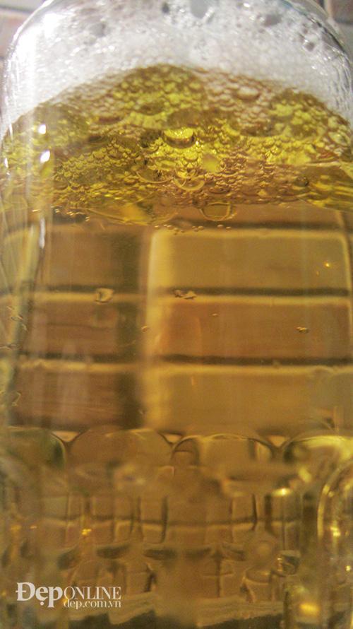 bia, dầu ô liu, xả tóc, tóc đẹp
