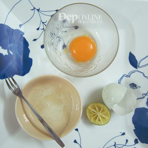 trị mụn, chanh, trứng gà, kinh nghiệm hay, Đẹp Online