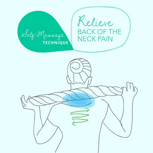5 thao tác massage làm giảm đau lưng, mỏi cổ