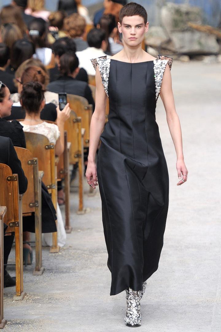 длинные модные платья 2010