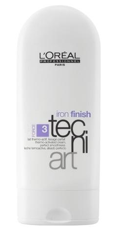 Kem tạo kiểu Tecni.Art Iron Finish làm mềm và mượt giúp bảo vệ tóc