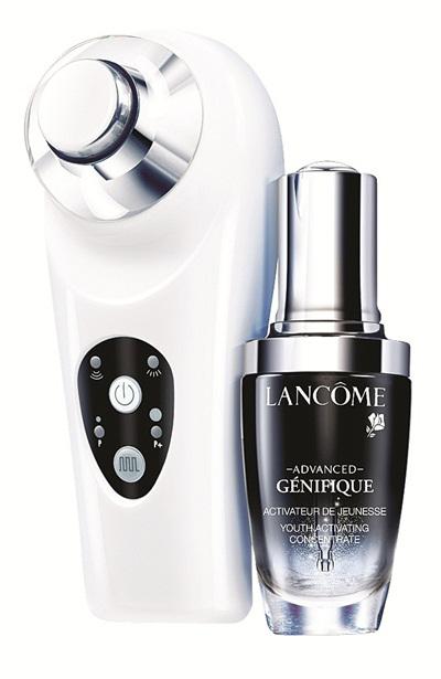 Máy massage siêu âm Lancôme Activating Genifique Probe và dưỡng mắt Genifique Eye Probe