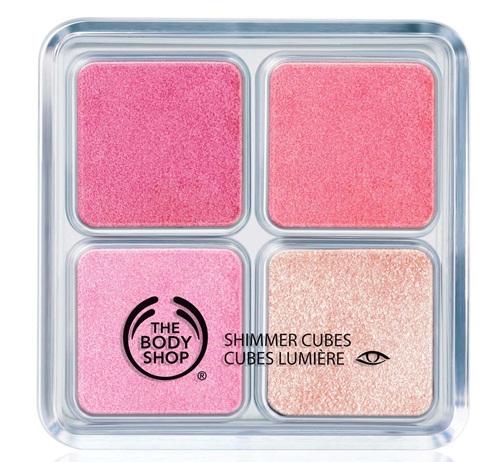 Nhũ mắt The Body Shop - Hot Pink Shimmer Cubes