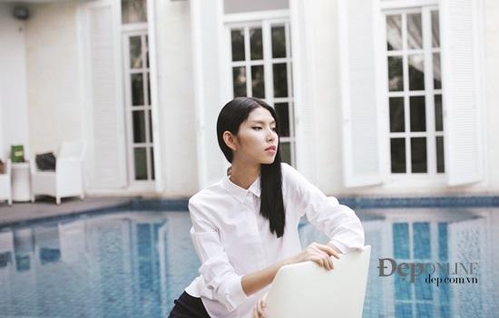 Người mẫu Thùy Dương