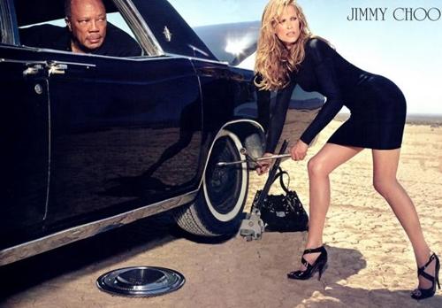 Top 10 thương hiệu giày nổi tiếng phụ nữ luôn khao khát   molly quincy jones jimmy choo 2009