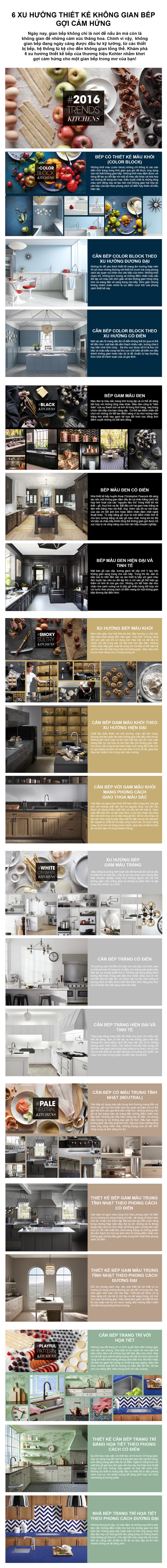6 xu hướng thiết kế không gian bếp gợi cảm hứng - Ảnh 1