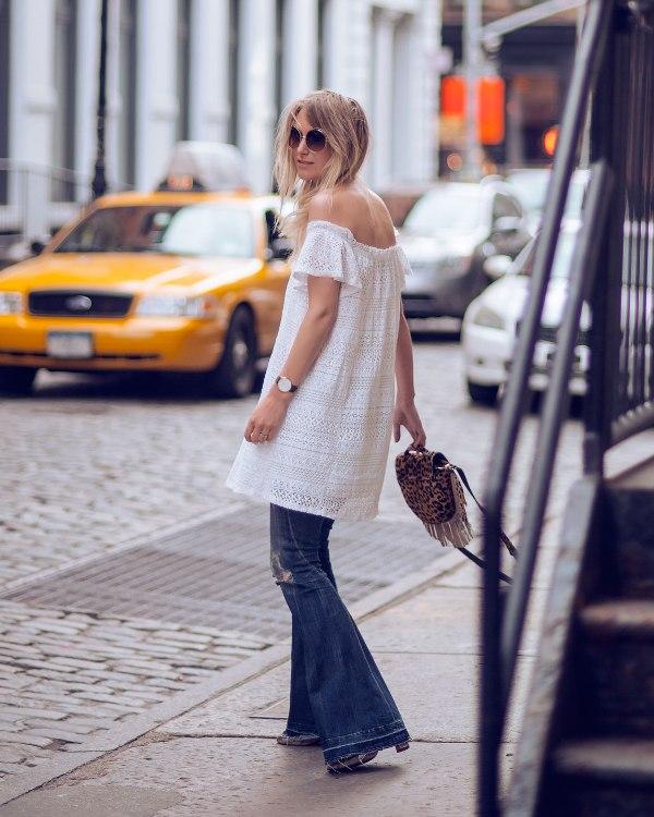 Quần ống loe, flare jean, xuân hè 2015, casual, công sở, hẹn hò, tiệc tùng, thời trang, phong cách