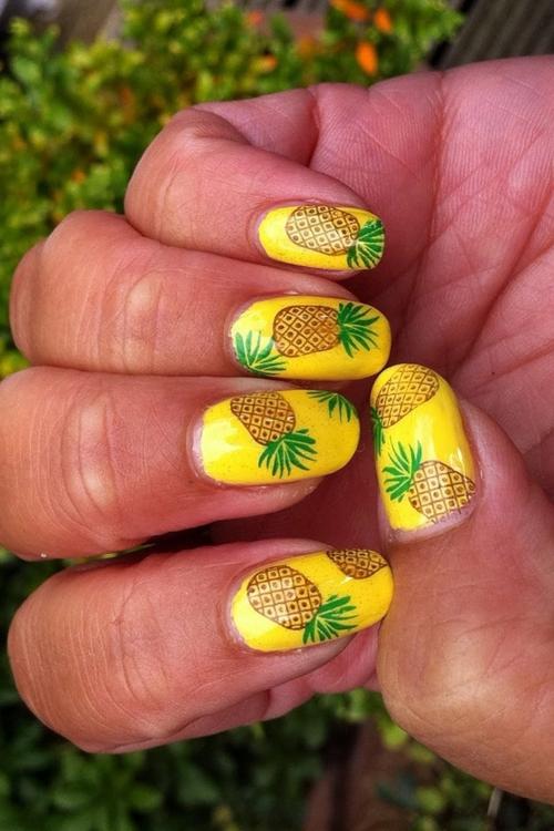 Mùa hè ngọt ngào và tươi mát với nail trái cây hấp dẫn 4