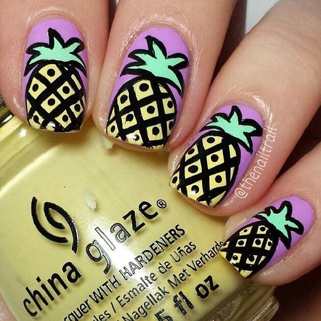 Mùa hè ngọt ngào và tươi mát với nail trái cây hấp dẫn 5