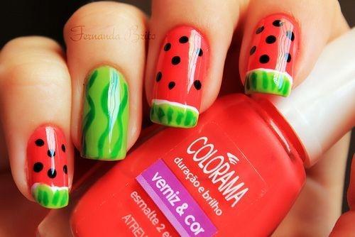 Mùa hè ngọt ngào và tươi mát với nail trái cây hấp dẫn 11