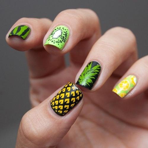 Mùa hè ngọt ngào và tươi mát với nail trái cây hấp dẫn 6