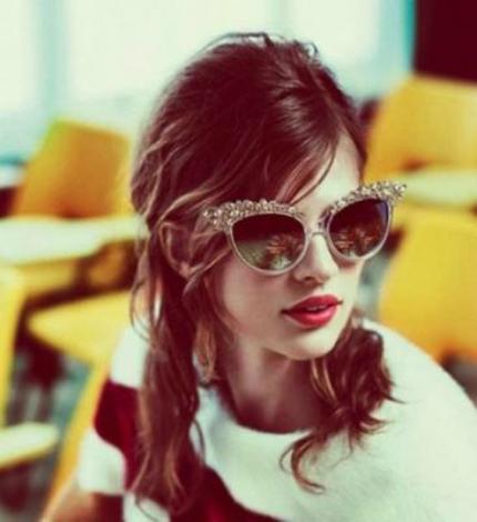Cập nhật những xu hướng kính mắt 2013 hot nhất cho mùa Hè mới   723 embellished sunglasses1