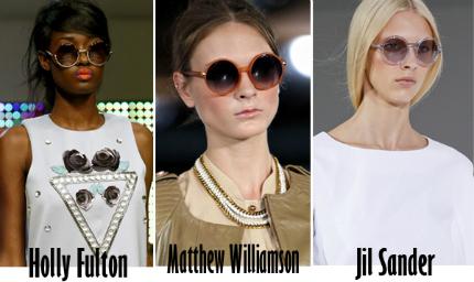 Cập nhật những xu hướng kính mắt 2013 hot nhất cho mùa Hè mới   spring summer 2013 eyewear trends 1