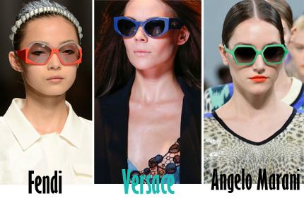 Cập nhật những xu hướng kính mắt 2013 hot nhất cho mùa Hè mới   spring summer 2013 eyewear trends 2