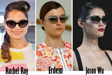 Cập nhật những xu hướng kính mắt 2013 hot nhất cho mùa Hè mới   spring summer 2013 eyewear trends 4