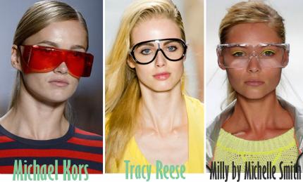 Cập nhật những xu hướng kính mắt 2013 hot nhất cho mùa Hè mới   spring summer 2013 eyewear trends 6