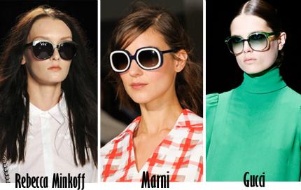 Cập nhật những xu hướng kính mắt 2013 hot nhất cho mùa Hè mới   spring summer 2013 eyewear trends 7
