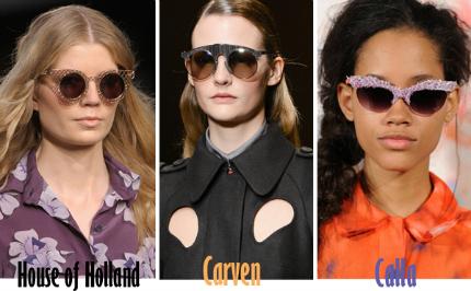 Cập nhật những xu hướng kính mắt 2013 hot nhất cho mùa Hè mới   spring summer 2013 eyewear trends 8