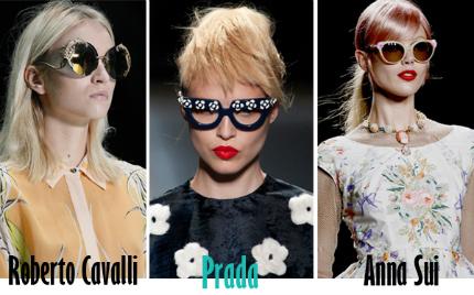 Cập nhật những xu hướng kính mắt 2013 hot nhất cho mùa Hè mới   spring summer 2013 eyewear trends 9