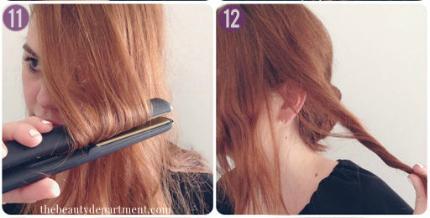 tóc tết, đẹp online