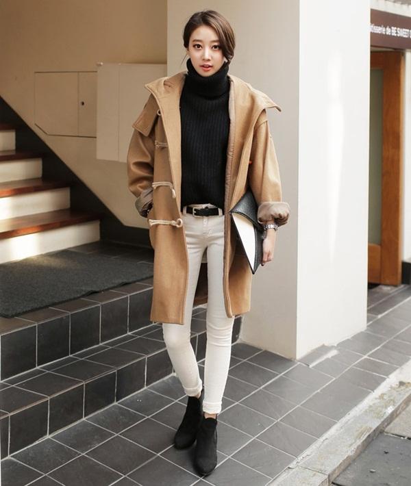 Thời trang, mix match, công sở, mùa đông