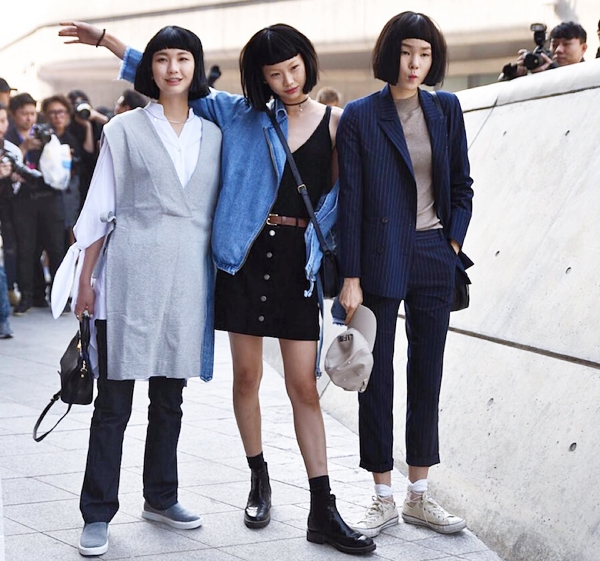 thời trang, street style, tuần lễ thời trang Seoul, Xuân Hè 2016