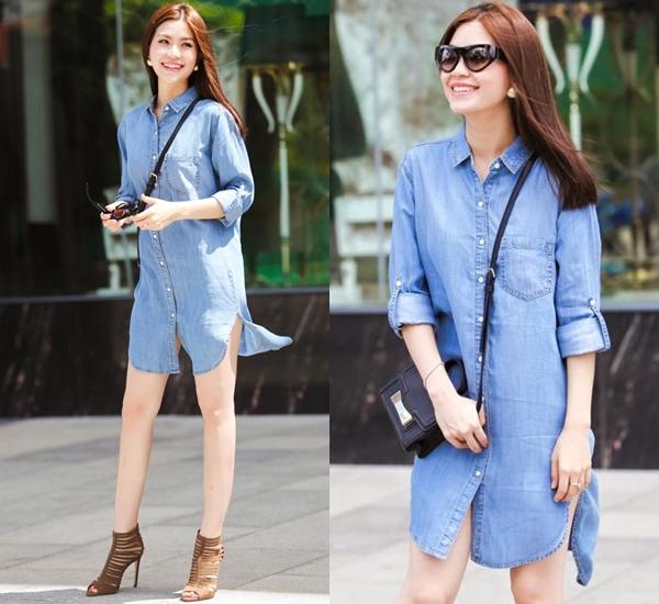 thời trang, street style, sao Việt