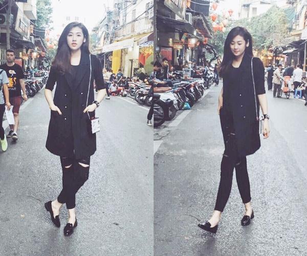 thời trang, street style sao Việt