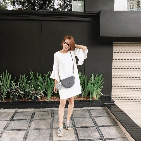 thời trang, street style fashionista Việt