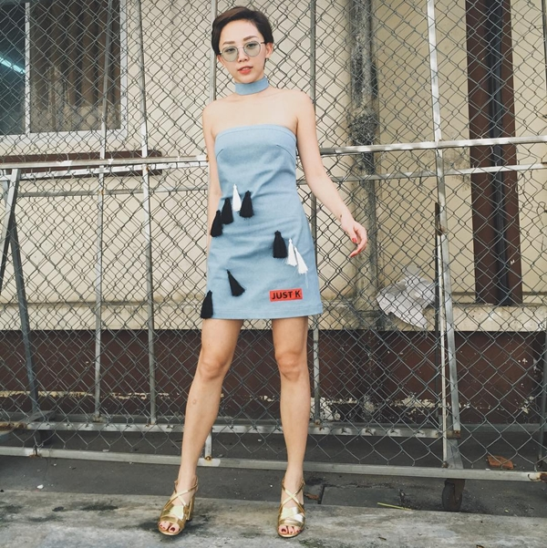 thời trang, street style mỹ nhân Việt