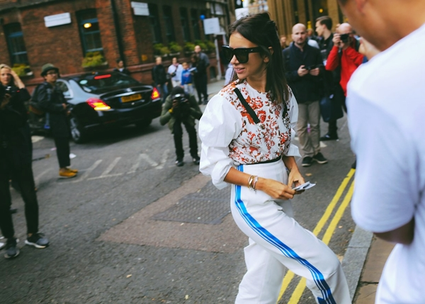 thời trang, street style london fashion week, xuân hè 2017