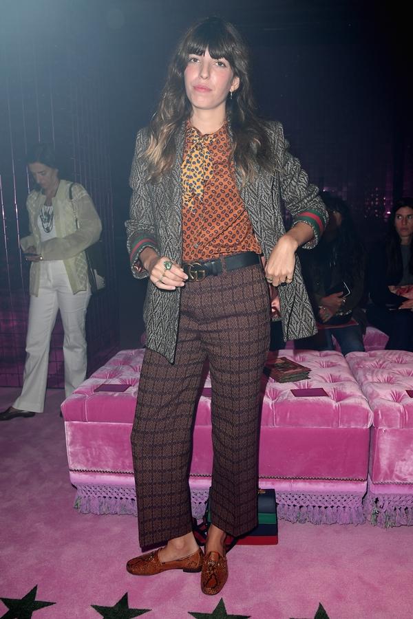 thời trang, hàng ghế đầu Gucci Xuân Hè 2017