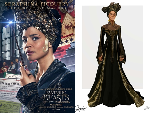 thời trang, Fantastic Beasts