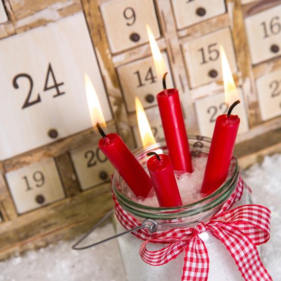 giáng sinh, ông già Noel, vòng nguyệt quế, nến, decor, quà tặng, nhà đẹp