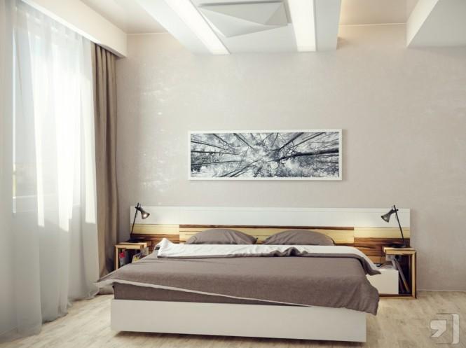 Những mẫu thiết kế hiện đại cho phòng ngủ năm 2013