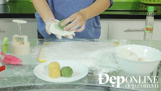 Cách làm bánh dẻo nhân đỗ xanh thơm ngon