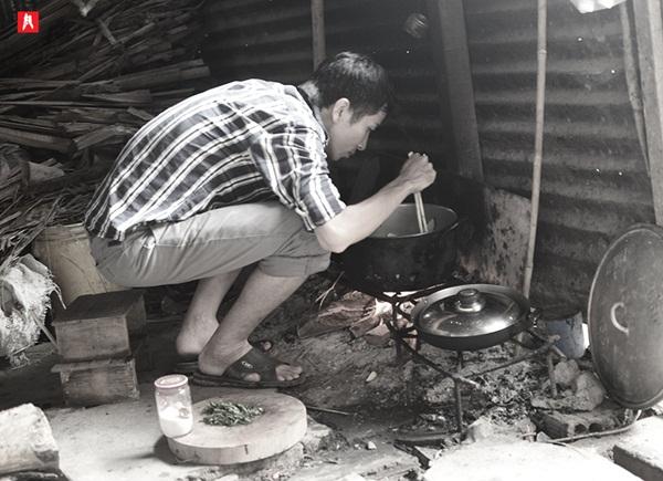 Bếp thực dưỡng, nguyễn anh vũ bếp thực dưỡng, đàn ông đeo tạp dề, đàn ông thích nấu nướng