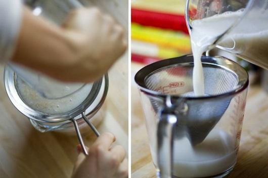 nước gạo chua gội đầu phụ nữ Thái deponline