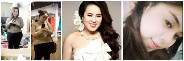 tăng 20kg 1 năm vẫn tự tin và xinh đẹp deponline Nguyễn Hương Xiêm