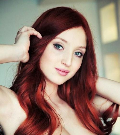 Trang điểm cho nàng nhuộm tóc đỏ - 9