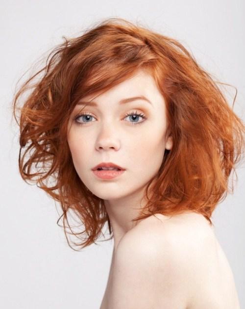 Trang điểm cho nàng nhuộm tóc đỏ - 2