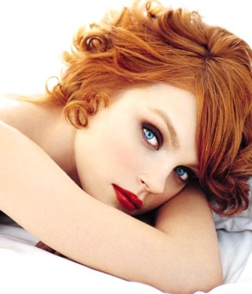 Trang điểm cho nàng nhuộm tóc đỏ - 3
