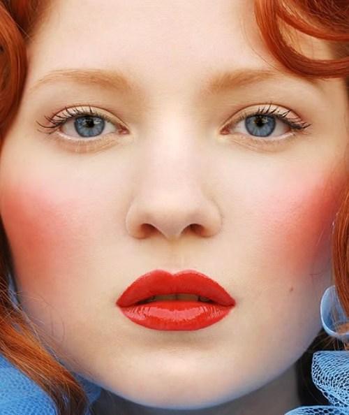 Trang điểm cho nàng nhuộm tóc đỏ - 5