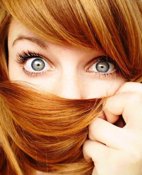 Trang điểm cho nàng nhuộm tóc đỏ - 6