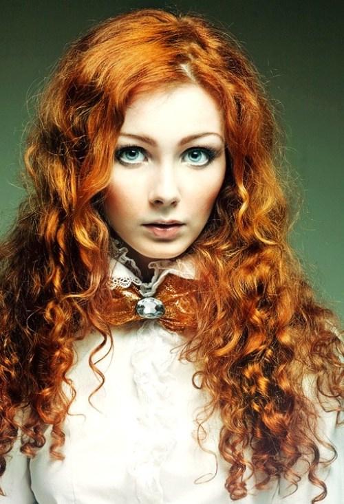 Trang điểm cho nàng nhuộm tóc đỏ - 7