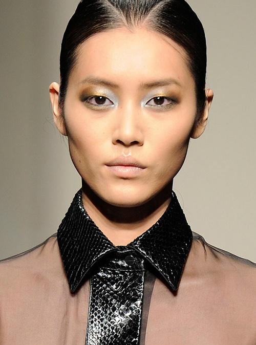 6 ombre eyes 7 kiểu trang điểm mắt ấn tượng trên sàn catwalk 2013