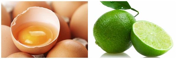 mặt nạ trứng gà chanh tươi trị mụn deponline